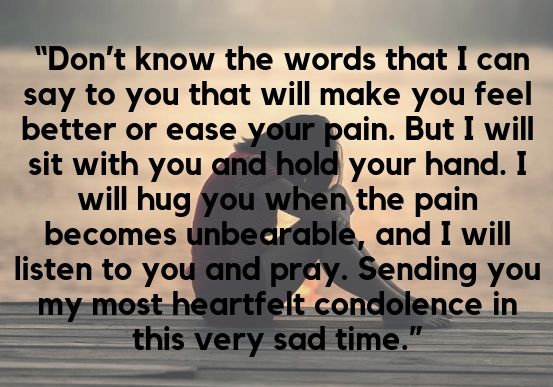 Inspirational Loss Quotes For Loved Ones TheSympathyQuotes Delectable Comforting Quotes